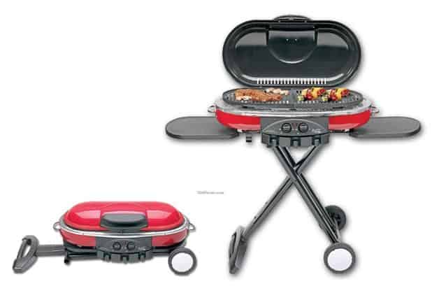 coleman roadtrip lxe propane grill red